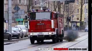 30.01.2013 - Tlenek węgla w mieszkaniu przy ul. Norwida we Wrocławiu