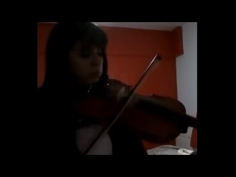 Había una vez (cover en violín) - Emocionante!! - por Maca González Herrera