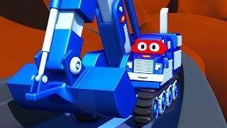 救援婴儿汽车- 超级变形卡尔在汽车城  周末合集4 ???? 儿童卡通片