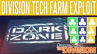The Division Tech Exploit Farming Glitch   Division Tech Farm   Craft High End   Gold Crafting