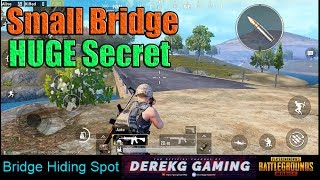 Small Erangel Bridges = HUGE Hiding / Sniping Opportunity | PUBG Mobile with DerekG
