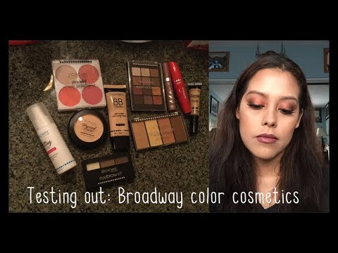 Testing out/ First Impression: Broadway Color Cosmetics