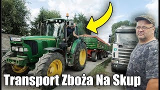Transport Zboża Na Skup 2019 ☆ Wypalony Jęczmień ☆ Jest Coraz Gorzej..