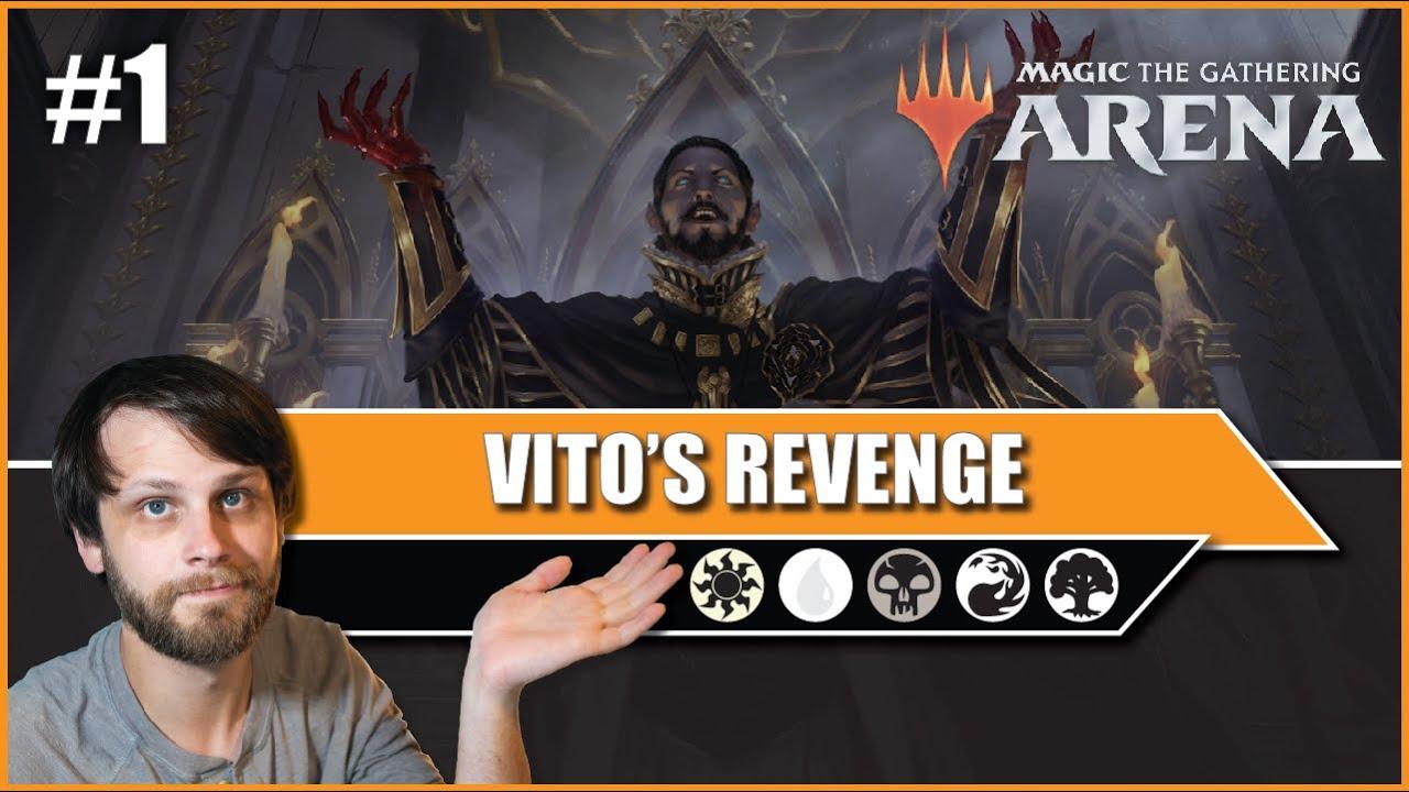 MTG Arena | Core 2021 Standard | Vito's Revenge #1