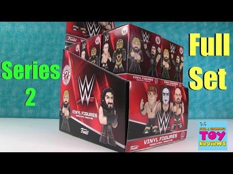 WWE Wrestling Funko Series 2 Mystery Minis  Blind Bag Unboxing  PSToys