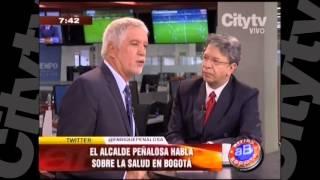 Peñalosa habla sobre la salud en Bogotá   CityTv   Arriba Bogotá   Enero 25