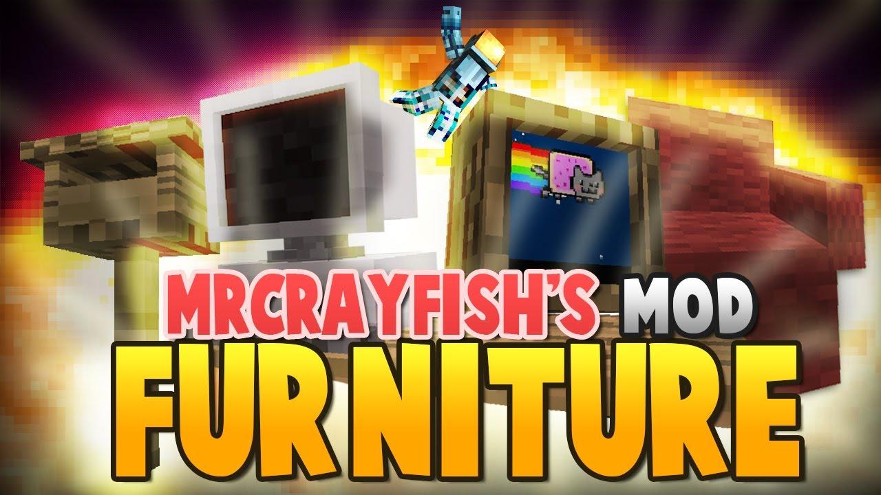 Minecraft Mod MR CRAYFISHS FURNITURE Mod I Can Watch TV