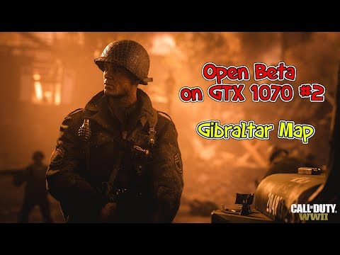 Call of Duty WWII Gameplay on GTX 1070 PC #2