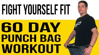 Punch Bag Workout (60-Day Program) for Fitness & Weight Loss