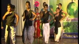 Podar International School, Latur - Annual Function 2013 (Aamhi Thakar)