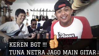 Tuna Netra Jago main Gitar with #Dennystunt | Guitar vlog