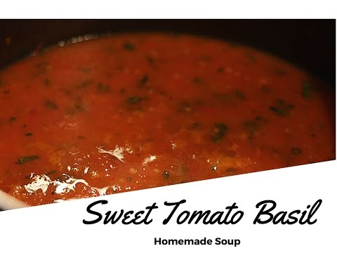 Sweet Tomato Basil Soup Cooking Class