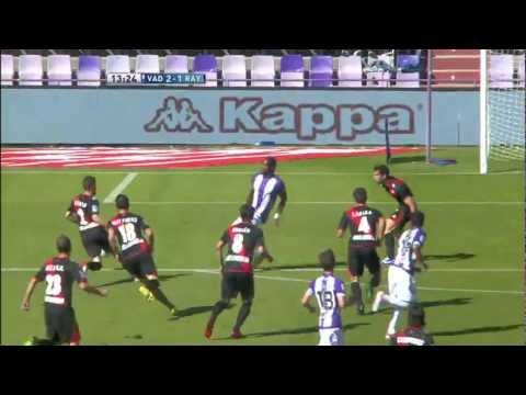 Gol de Manucho (2-1) en el Real Valladolid - Rayo Vallecano Jornada 6