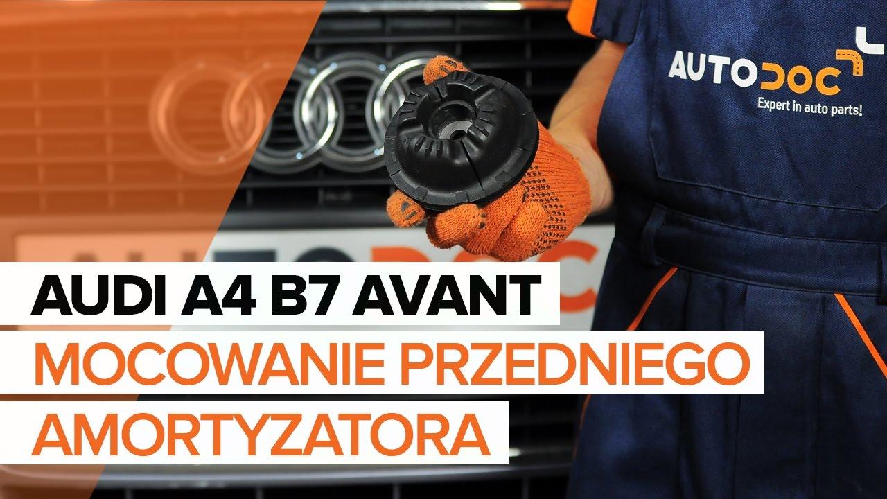 Jak Wymienić Poduszka Amortyzatora Przedniego W Audi A4 B7 Avant Tutorial Autodoc
