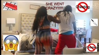 CHEATING ON WIFE PRANK GONE WRONG