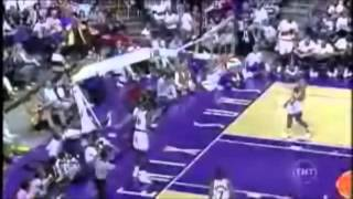 Shaq Rips Down Rings and Backboards