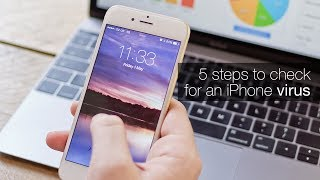 How to check for an iPhone virus Resimi