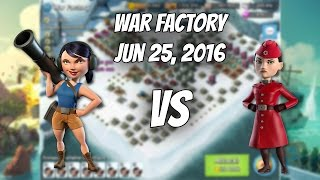 Jun 25, 2016 War Factory. Gearheart defeated with Smokey Zooka Unboosted - Boom Beach