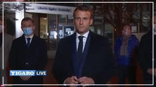 Emmanuel Macron à Conflans-Sainte-Honorine: «Ils ne passeront pas»