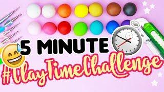 5 Minute CLAY CHALLENGE!! |  #ClayTimeChallenge