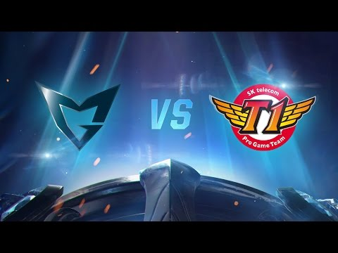 Worlds 2016: SSG vs SKT 1. Maç - Final