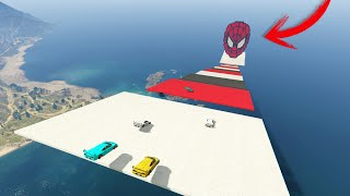 LA MEGA RAMPA IMPOSIBLE DE SPIDERMAN! - GTA V ONLINE