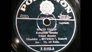 """Havið trúgv ( Belive in God ). Mandskor """"BETESDA"""", Klaksvik . Recorded in Copenhagen 1946"""