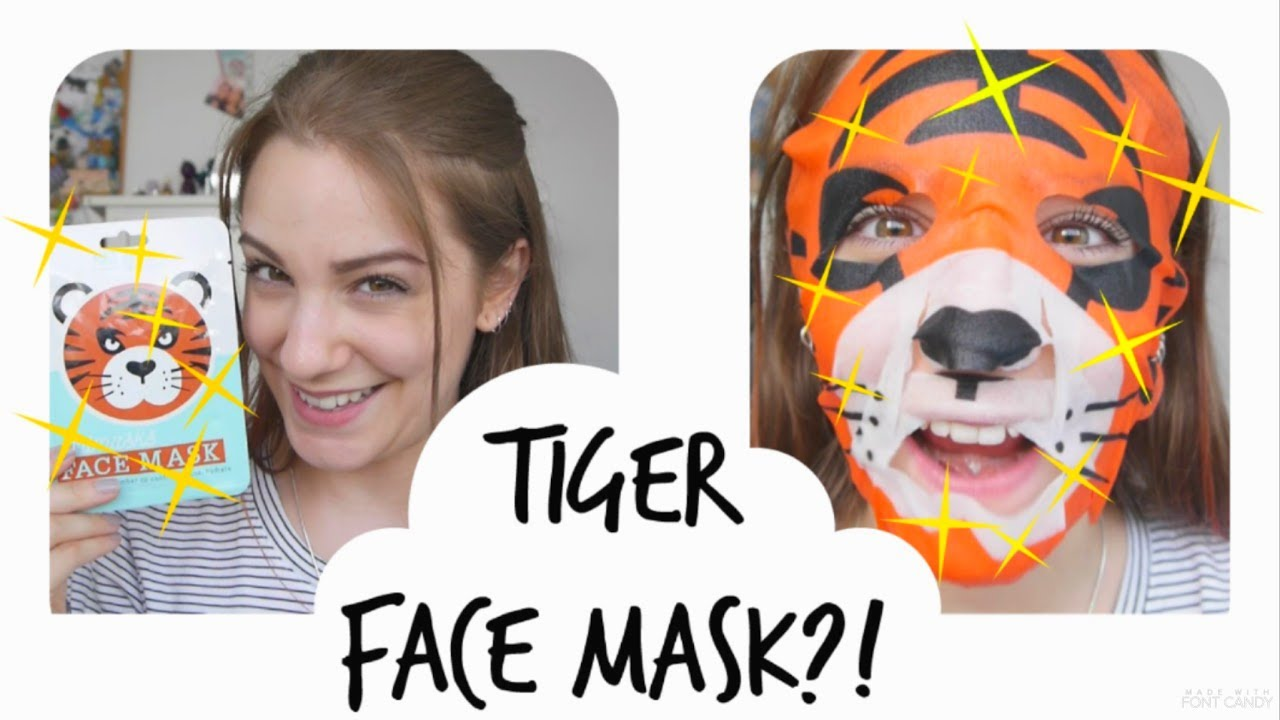 LET'S TEST IT! --Mad Beauty Tiger Face Mask---