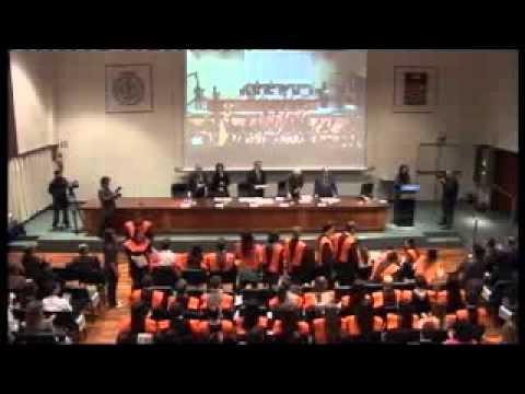Acte de Graduació 2010 - Padrí Pasqual Maragall