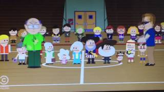 South Park-season 19 episode 2 mr. Mackey is Dan Rather