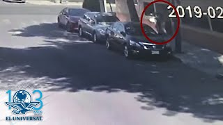 """Aplica """"la china"""" para robar a una joven en Azcapotzalco"""