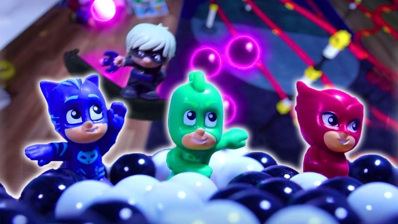 PJ Masks en Español ⚡ ¡Atrapen Las Canicas! 🌟 ¡Nueva Serie! - Dibujos Animados