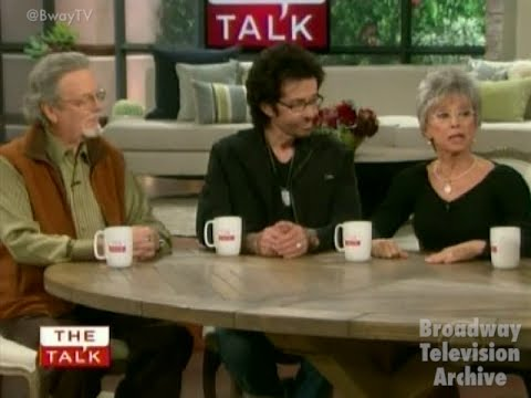 West Side Story Reunion w/  Rita Moreno, Russ Tamblyn, George Chakiris (The Talk 16-Nov-2011)