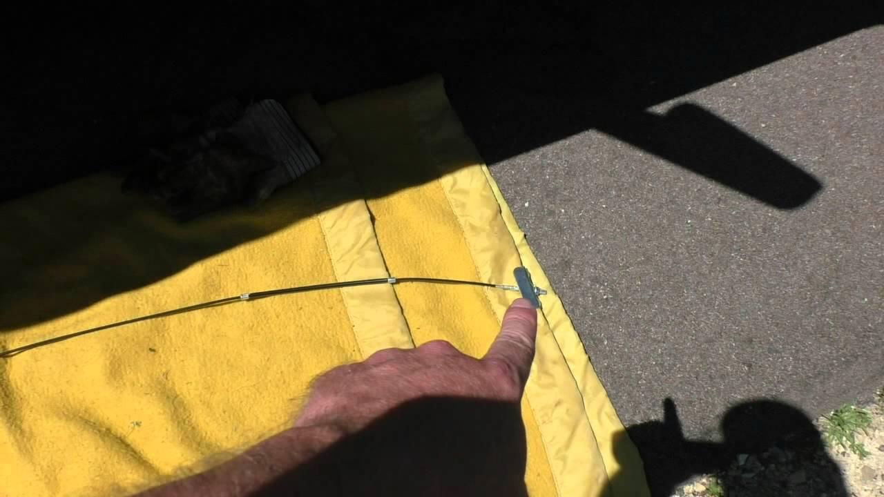 Silverado Parking Brake Cable Repair