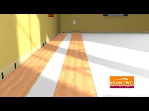 Instalation Of Laminate Flooring Kronopol Youtube