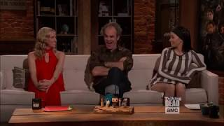 Talking Dead - Steven Ogg (Simon) on favourite moment with Austin Amelio (Dwight) on set