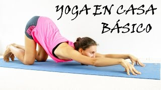 Yoga para principiantes básico | Todo cuerpo día 1 thumbnail