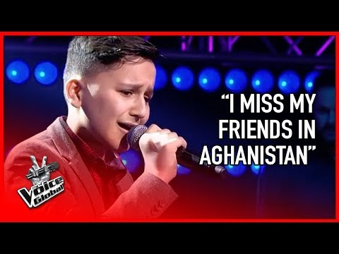 Afghan refugee steals hearts of coaches | The Voice Global