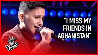 Afghan refugee steals hearts of The Voice coaches | STORIES #11