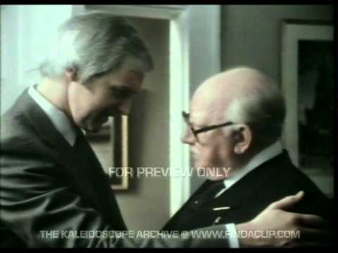 Barclays Bank Commercial  Dad's Army  Arthur Lowe  Ian Lavender