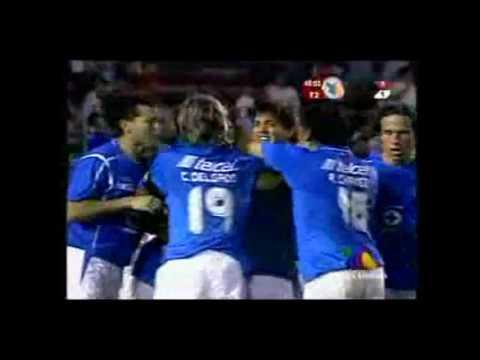 """Golazo Historico De Oscar """"Conejo"""" Perez en el Cruz Azul vs Tecos"""