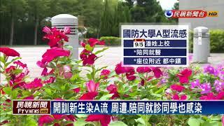 國防大學爆發A流群聚感染 停課三天-民視新聞