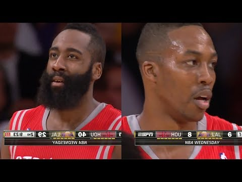 2014.02.19 - James Harden & Dwight Howard Full Combined Highlights at Lakers
