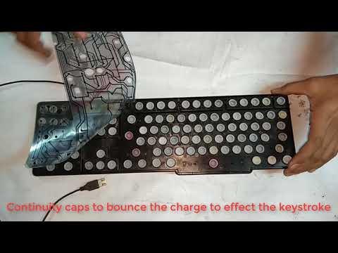 computer keyboard keys not working - YouTube