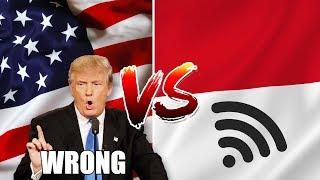 Kecepatan Internet di Amerika VS di Indonesia, Kalah Telak Gak Ya?