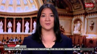 Lactalis : auditions de Michel Nalet, directeur de la communic... - Les matins du Sénat (06/08/2018)