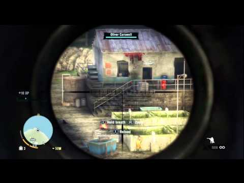 Far Cry 3 Gameplay - Sniper mission