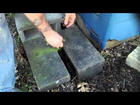 Build a rain watcher catch for survival,  prepping, gardening, etc...