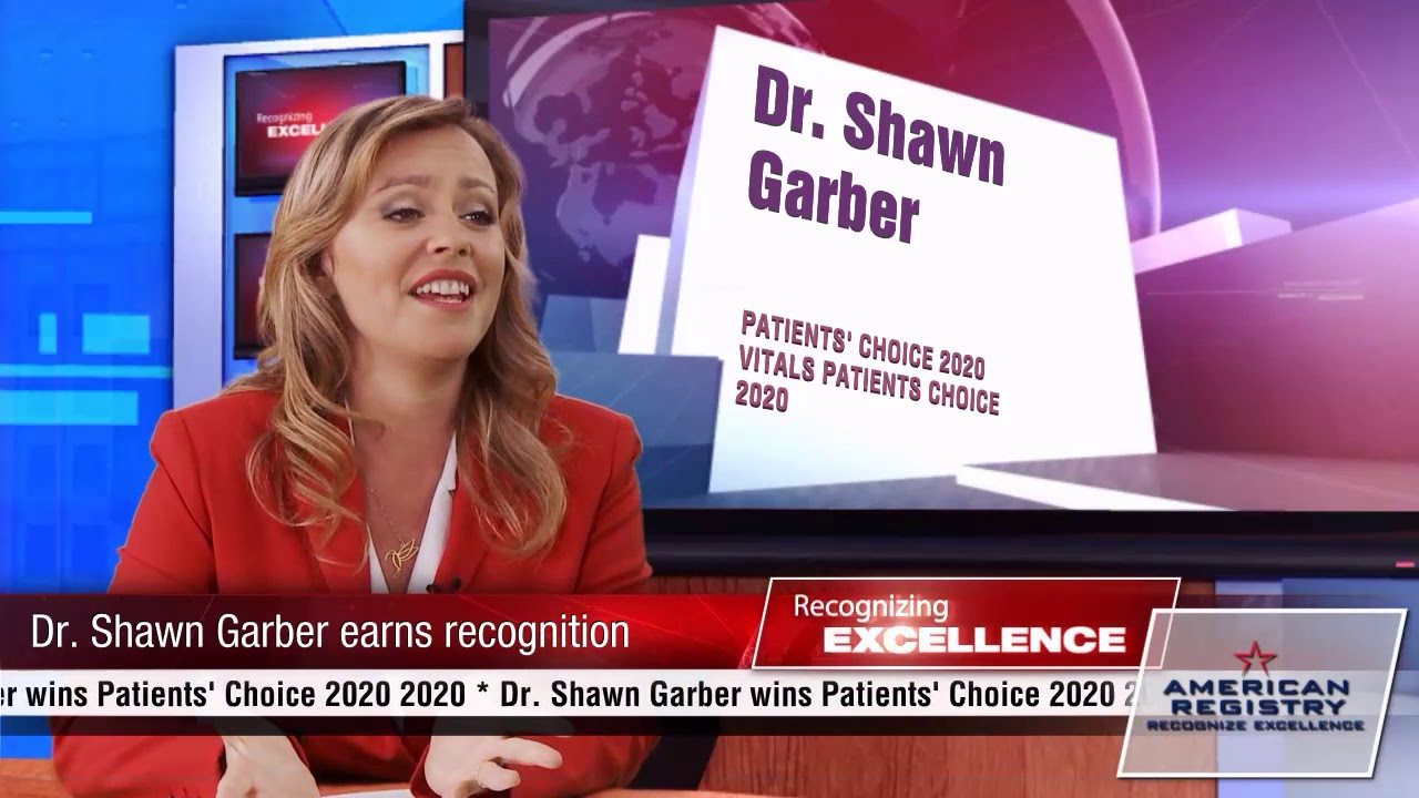 Shawn Garber - Recognized for Excellence