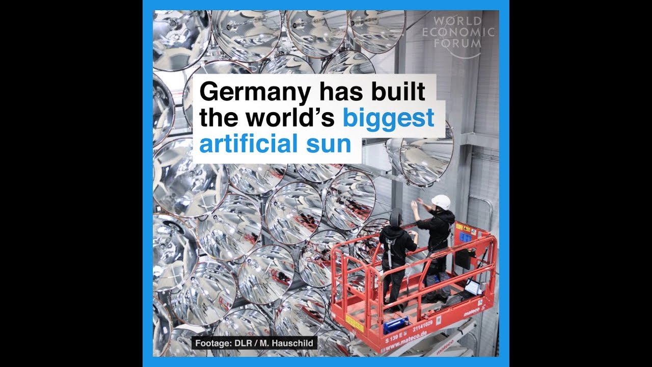 Germany has built the world's biggest artificial sun